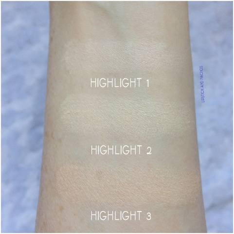 boxycharm iby palette swatches highlight