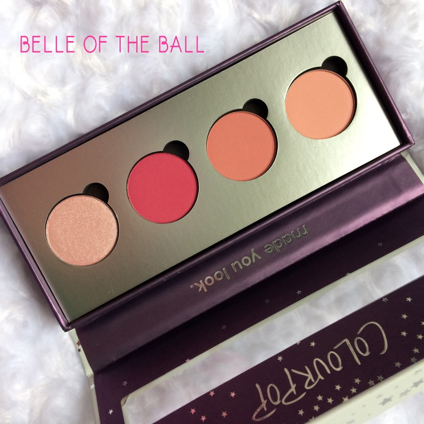 colourpop belle of the ball palette
