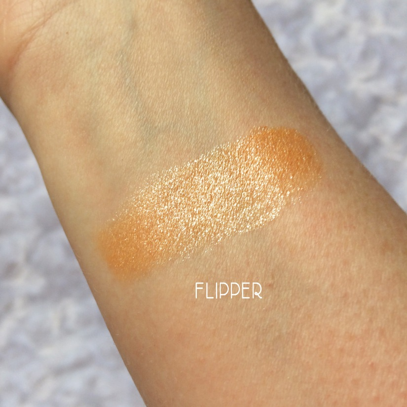 colourpop flipper swatch