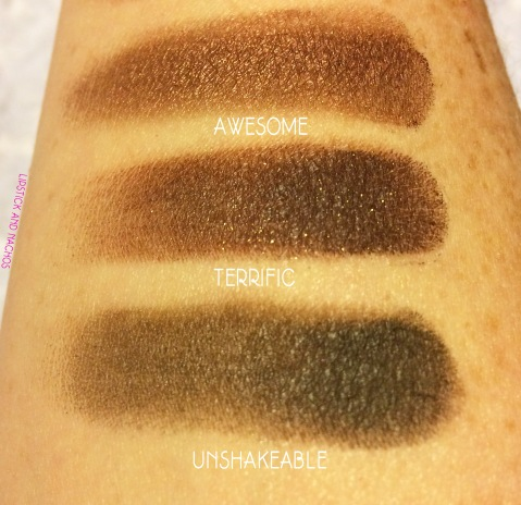 boxycharm realher eyeshadow swatches 2
