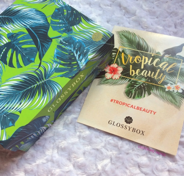 glossybox july 2017 tropical beauty