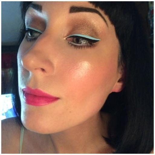 ipsy june 2017 makeup look