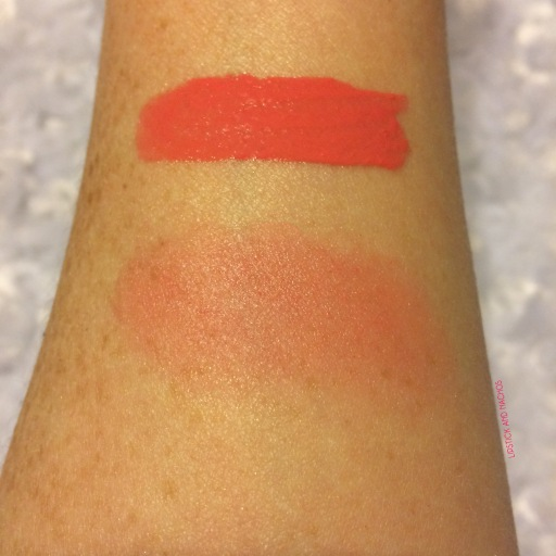 ipsy nyx whipped blush swatches