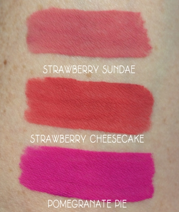 jordana sweet cream matte lip swatches