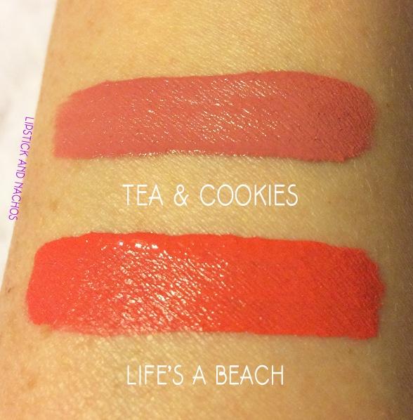 lipstickandnachos nyx liquid suede swatches