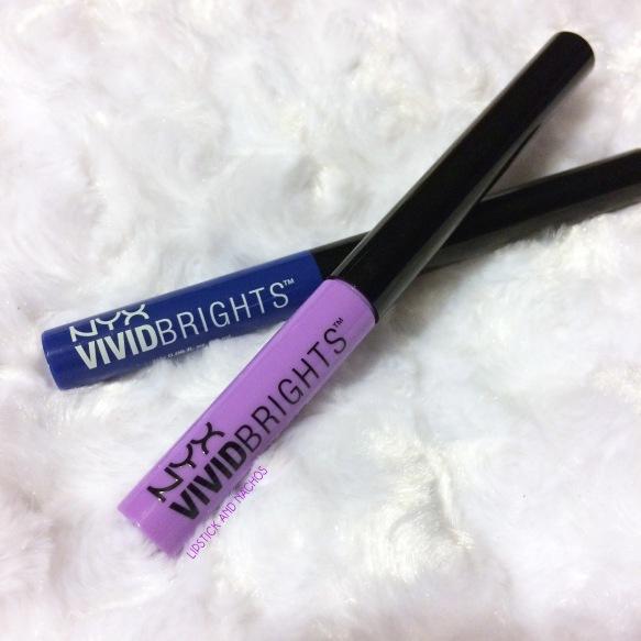 lipstickandnachos nyx vivid brights eyeliner