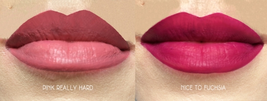 wet n wild catsuit lip swatches