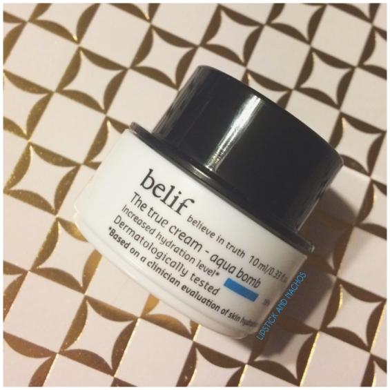 belif the true cream aqua bomb skincare ipsy