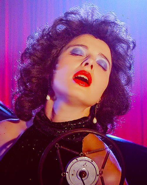 dorothy vallens isabella rossellini makeup blue velvet