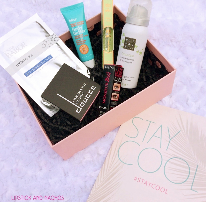 glossybox august 2017 all