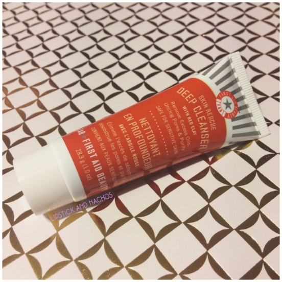 ipsy first aid beauty skin rescue deep cleanser