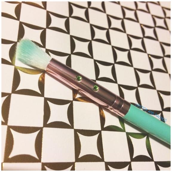 ipsy slmissglam T35 precise blending brush bristles