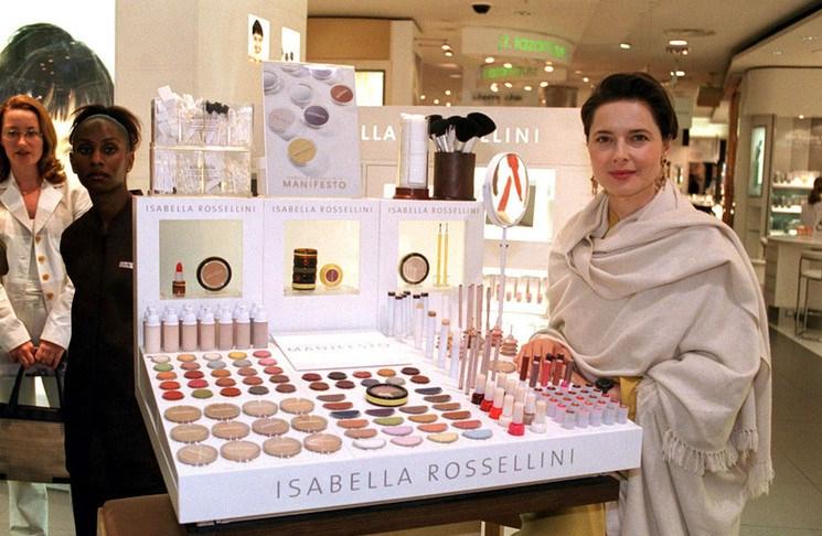 isabella rossellini manifesto makeup line