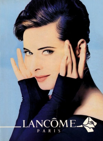 isabella rossellini young lancome ad makeup