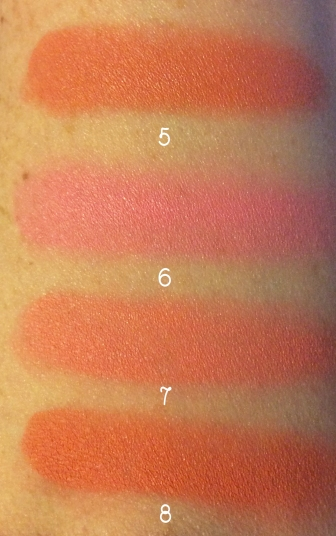 makeup revolution blush palette swatches 2