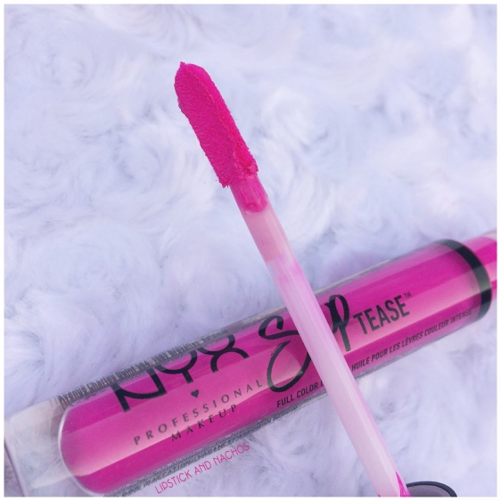 NYX slip tease lip oil applicator