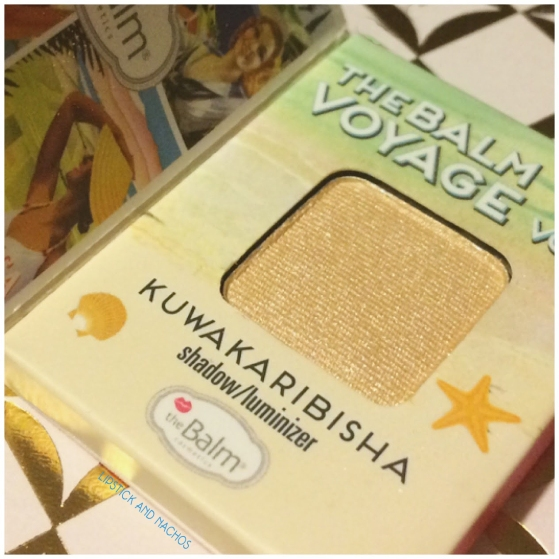 the balm voyage kuwakaribisha shadow luminizer detail