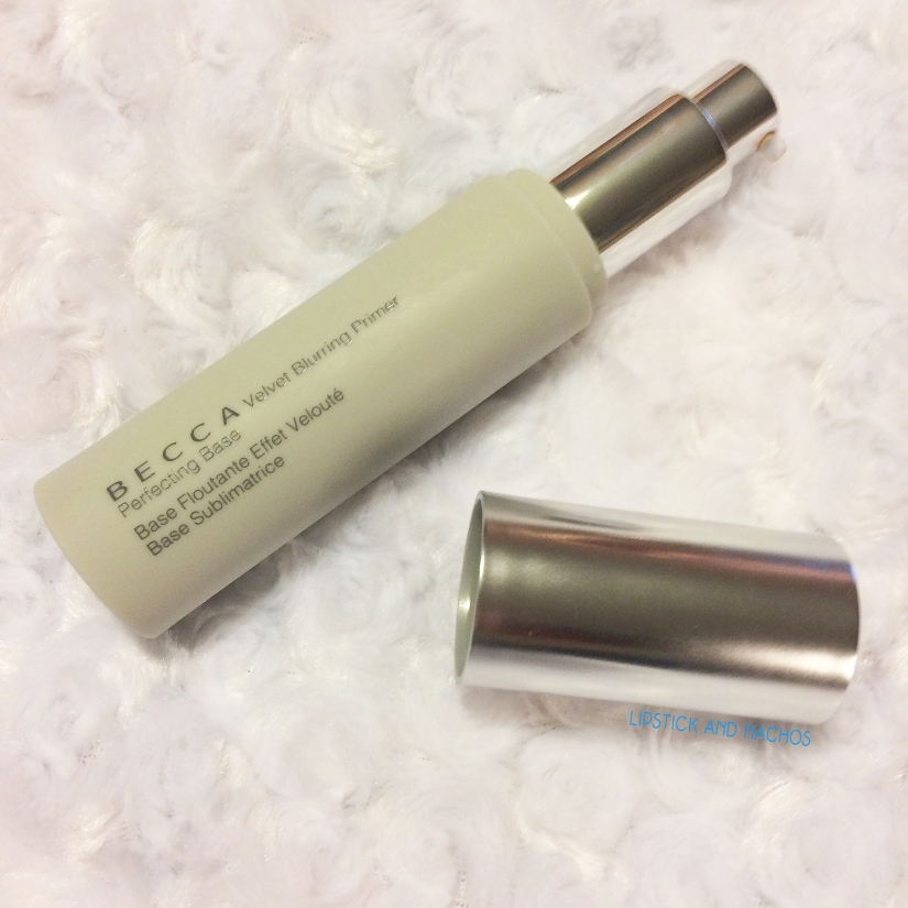 lipstickandnachos influenster becca velvet blurring primer pump copy