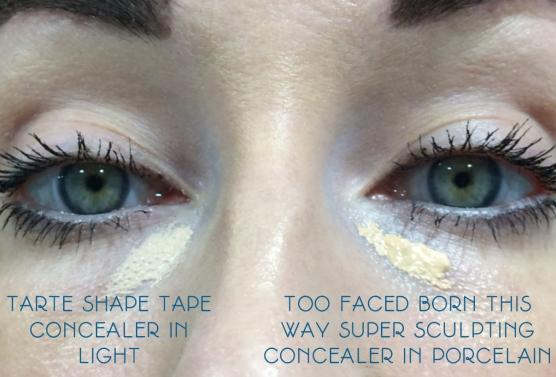 too faced versus tarte concealers lipstickandnachos