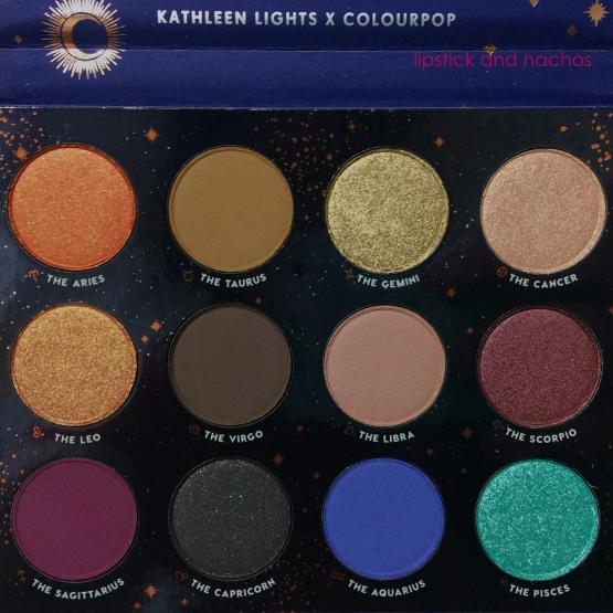 Colourpop Kathleenlights Zodiac Palette lipstickandnachos