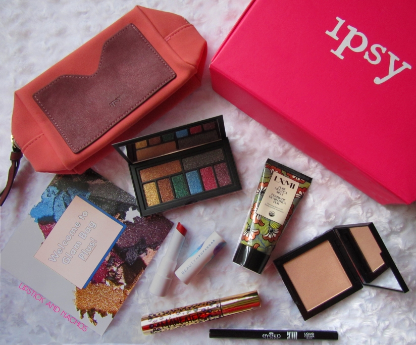 Ipsy Glam Bag Plus October 2018 lipstickandnachos
