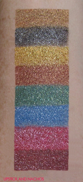 ipsy Glam Bag Plus Smashbox palette swatches October 2018 lipstickandnachos