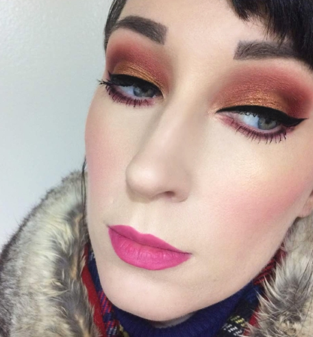 Ace Beauty Grandiose Eyeshadow Palette Boxycharm Look Lipstick and Nachos 3