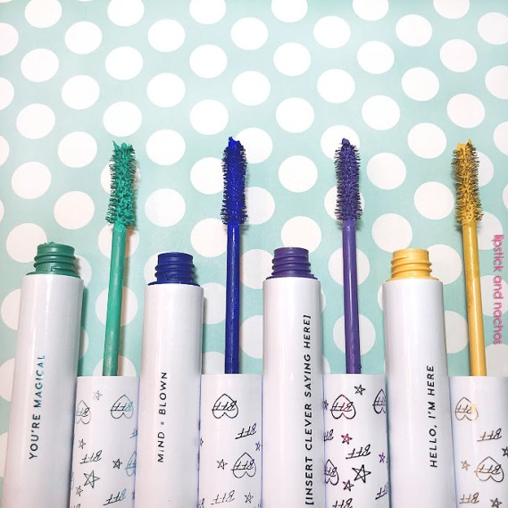 Colourpop BFF Mascara Color Swatches Wand Applicators lipstickandnachos