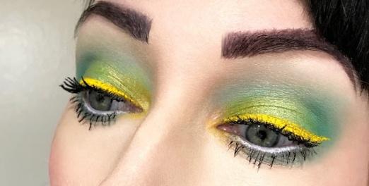 Colourpop creme gel liner punch yellow lipstickandnachos blog