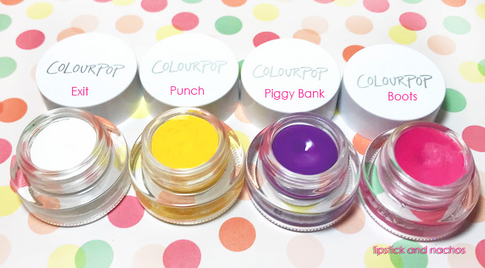 Colourpop Eyeliner Color Cream Gel Liners Jars 2