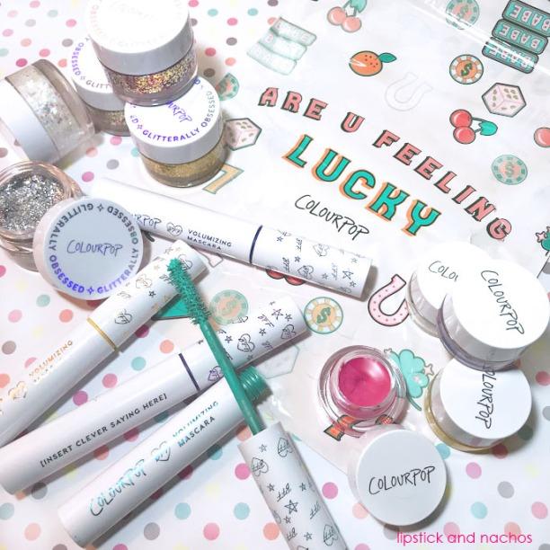 Colourpop Haul BFF Mascara Gliterally Obsessed Gel Liner lipstickandnachos