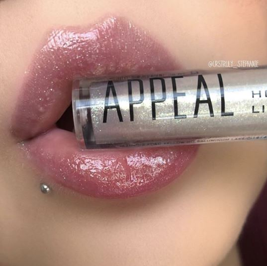 April 2019 Boxycharm lipstickandnachos Appeal Holographic Lip Gloss swatch
